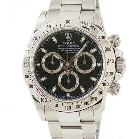 ロレックス ROLEX デイトナ クロノ 116520 V番 メンズ 腕時計自動巻き ブラック 【中古】【店頭受取対応商品】