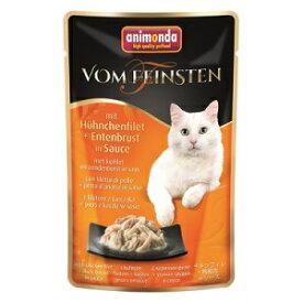 アニモンダ 猫用 フォムファインステン パウチ チキンフィレ/鴨胸肉 50g【B5】【83690】【メール便可能】