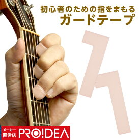 【メール便 送料無料】 ギター 初心者 練習 曲 簡単 入門セット 好き プレゼント ( 指をまもる ストリングガード プロイデア ) ギフト プレゼント セール (2)