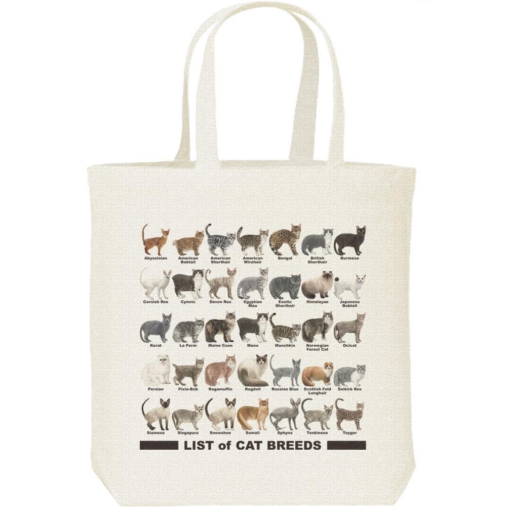猫のリスト/キャンバスバッグ・M(トートバッグ)
