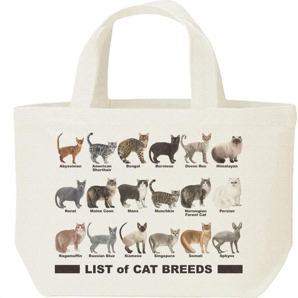 猫のリスト/キャンバスバッグ・S(ランチバッグ)