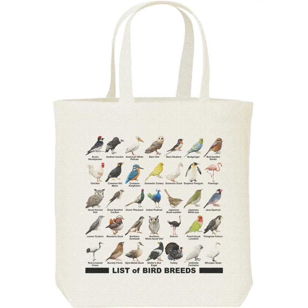 鳥のリスト/キャンバスバッグ・M(トートバッグ)