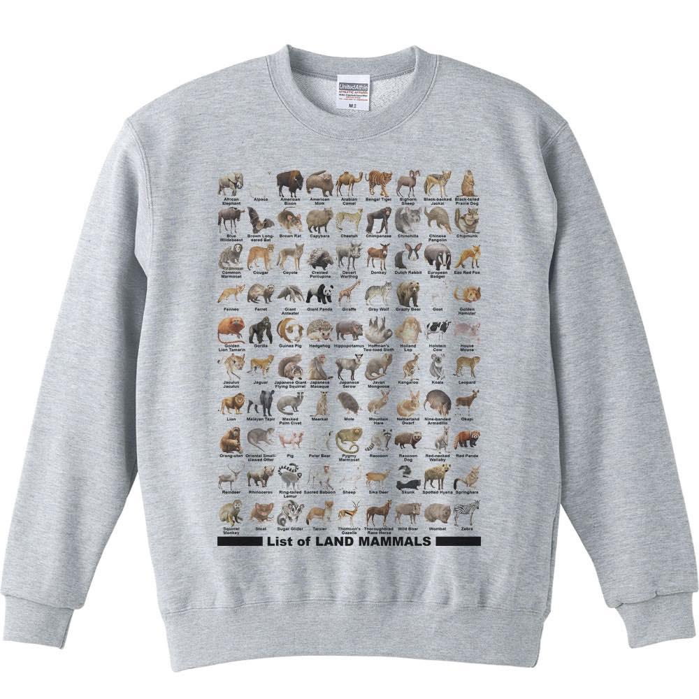 陸上 哺乳類のリスト/トレーナー