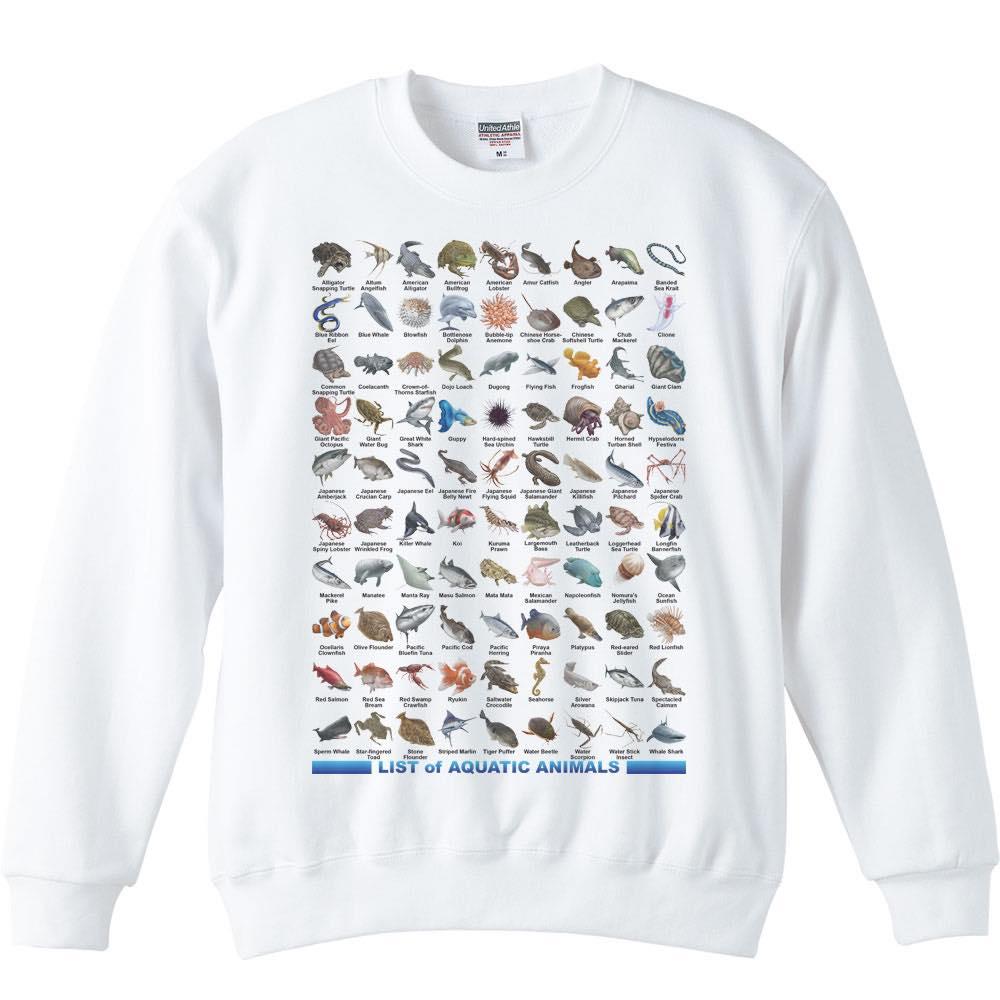 魚類&水棲生物のリスト/トレーナー