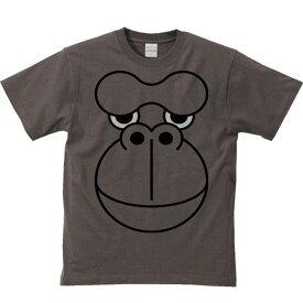 ファニーフェイス・ゴリラ/半袖Tシャツ