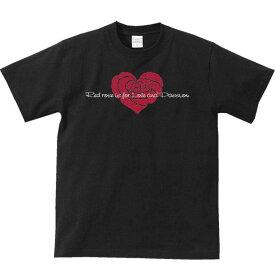 ハート シェイプド ローズ(はーと型バラ)/半袖Tシャツ