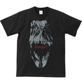 恐竜の頭骨(ティラノザウルス・レックス)化石/半袖Tシャツ