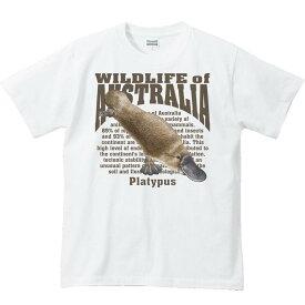カモノハシ(オーストラリアの生物)/半袖Tシャツ