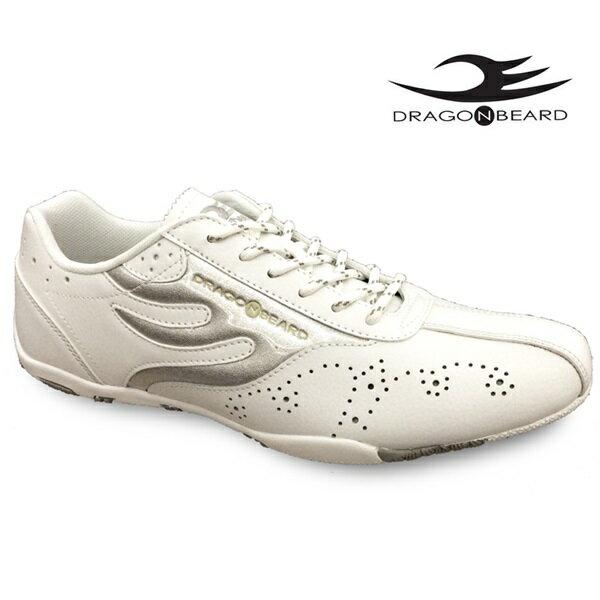 ドラゴンベアード スニーカーDRAGONBEARD DB-680S WHT/SIL ホワイト/シルバー 靴ダーツ