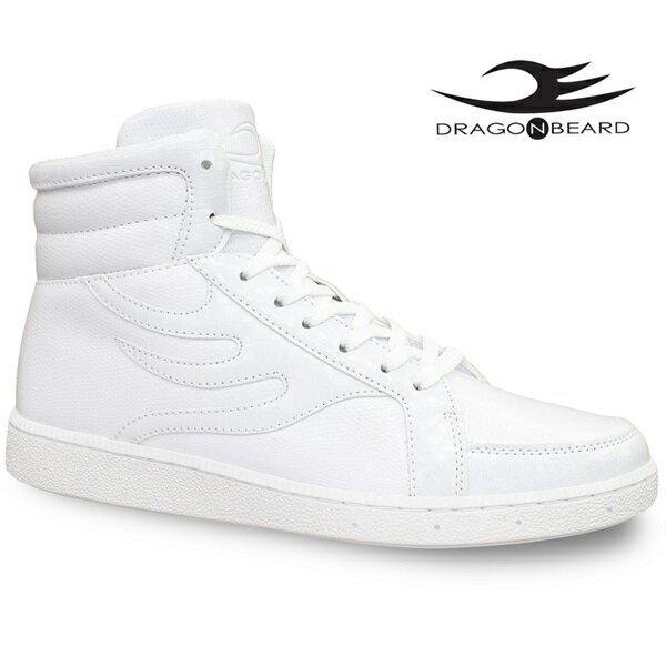 ドラゴンベアード スニーカーDRAGONBEARD DB-0900 WHTドラゴンベアード DB0900 ホワイトメンズスニーカー メンズ靴 紳士靴 ハイカットスニーカーダーツ