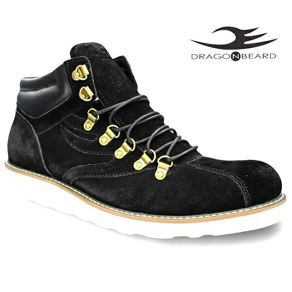 ドラゴンベアード ブーツ DRAGONBEARD DX-8810 BLK 靴 ダーツ