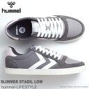 ヒュンメル スニーカーhummel SLIMMER STADIL LOW HM203373 2600 CASTLEROCKスリマースタディールスポーツ カジュアル…