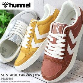 ヒュンメル スニーカーhummel SLIMMER STADIL CANVAS LOW HM208051スリマースタディールキャンバスロー キャンバススニーカー