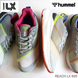 ヒュンメル スニーカーhummel REACH LX 600 HM211811リーチ LX600 ウォーキング フィットネス マルチスニーカー ダッドスニーカー
