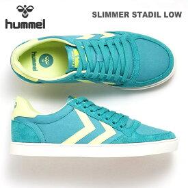 ヒュンメル スニーカーhummel SLIMMER STADIL LOW HM202664スリマースタディールスポーツ カジュアルシューズ ヒュンメルライフスタイルシューズ