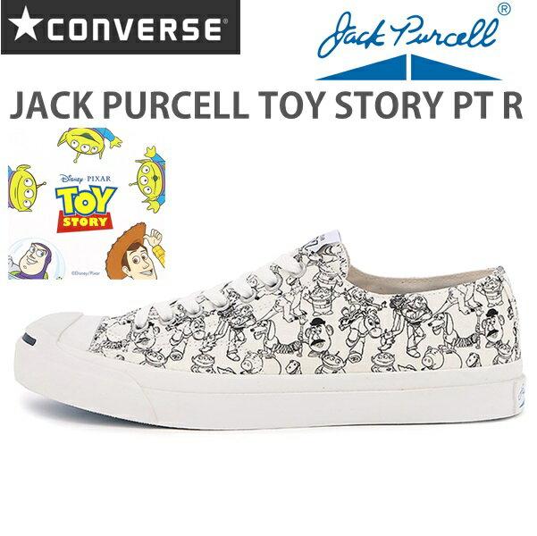 コンバース ジャックパーセルCONVERSE JACK PURCELL TOY STORY PT R ホワイトジャックパーセル トイ・ストーリー PT R