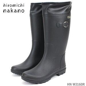 ヒロミチナカノ 長靴hiromichi nakano HN WJ160Rレディース レインブーツ ジュニア ゴム長靴 防水 防寒 クリスマス 雪