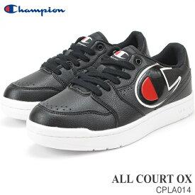 チャンピオン スニーカー レディース メンズオールコートOX BLACKCHAMPION ALL COURT OX CP LA014