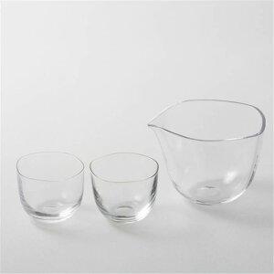 日本製 Brume(ブルーム) 冷酒セット ぐいのみ 杯 日本酒 ( 切子 徳利 おちょこ セット 日本酒 ガラス 還暦祝い 退職祝い 内祝い ギフト 記念品 プレゼント )
