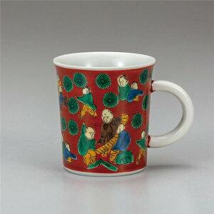 九谷焼 マグカップ 木米 ( マグカップ 和食器 おしゃれ コーヒーカップ マグ コーヒーマグ 和モダン かわいい 可愛い カップ コップ 食器 カフェ風 モダン 和柄 来客用 紅茶 かわいい 和風 国