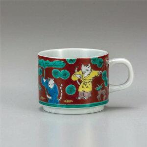 九谷焼 マグカップ ねこ木米 ( マグカップ 和食器 おしゃれ コーヒーカップ マグ コーヒーマグ 和モダン かわいい 可愛い カップ コップ 食器 カフェ風 モダン 和柄 来客用 紅茶 かわいい 和