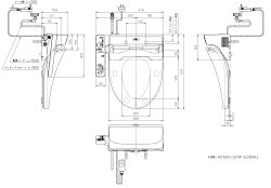 TOTOウォシュレットBV2脱臭機能付きTCF2221E