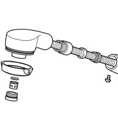 KVK MYMメンテナンス用パーツ シャワー部 HC286