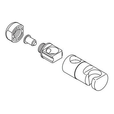 KVK スライドハンガーユニット Z246UNO1【CP】