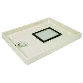 【在庫処分セール!】テクノテック(TECHNOTECH) 点検口付洗濯機防水パン ABSエンデバー(点検口:有色) TSE-800