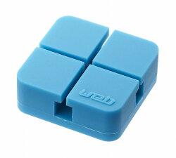 山崎実業(YAMAZAKI)コードホルダーウェブS2個組ブルー02668