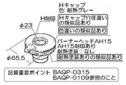 リンナイ(Rinnai)バーナーキャップ【強火力バーナー用】(グレー)151-418-000