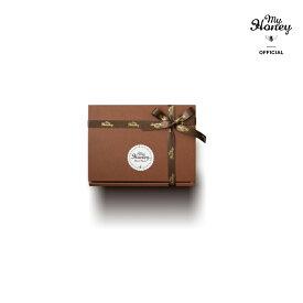 ブラウンギフトボックス × MYHONEYロゴ入りリボン仕様