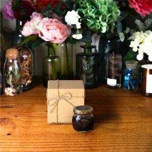 【生はちみつギフト】ハニーショコラM(90g) / ナチュラルクラフトボックス(S) + 麻紐リボン + 手提げ袋