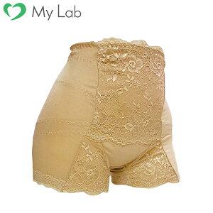骨盤サポートショーツ 3枚組 ( ベージュ ) M L LL 大きいサイズ 尿漏れ 対策 骨盤底筋