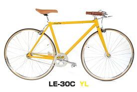 シングルスピード LE-30C フリー 固定 自転車