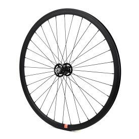 ロングエッヂ トラックホイール フロント【LE 30mm track wheel front】700c ピストホイール ピストバイク 自転車 カスタム