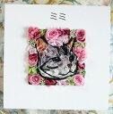 【送料無料】【写真から作るお花マイペットフラワー壁掛け(名前入り5文字まで)】プリザーブドフラワー ギフト 父の…
