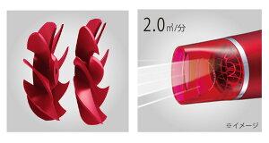 【2019年人気商品】大風量ドライヤーモンスターコイズミダブルファンドライヤーKHD-W740レッドブラックゴールド 