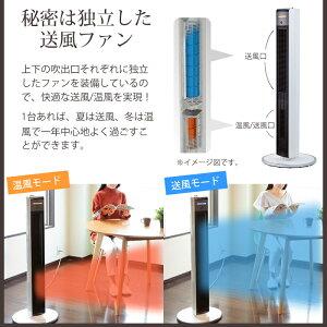 ホット&クールハイタワーファンコイズミACモーター5