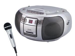 ダビング録音も簡単、CDカセットSAD4943