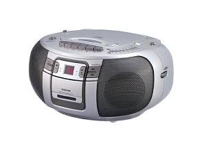 ダビング録音も簡単、CDカセット。
