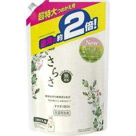 P&G さらさ 洗剤ジェル つめかえ用 超特大サイズ 1640g(4902430366595)