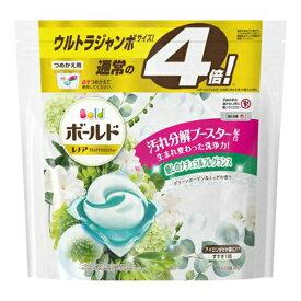 P&G ボールド ジェルボール 3D グリーンガーデン&ミュゲの香り つめかえ用 ウルトラジャンボサイズ 60個入