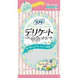 ユニチャーム(ユニ・チャーム) ソフィ デリケート ウェットシート グリーンの香り 12枚入