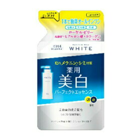 コーセーコスメポート モイスチュアマイルド ホワイト薬用美白 パーフェクトエッセンス つめかえ用 200ml