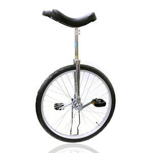 一輪車 中学生から大人向き 競技用 24インチ スポーツ キッズ 安心 安全 ユニサイクル 全国すべて送料無料 誕生日プレゼント おすすめ プレゼント MYS ULTIMATE UNI 12 クロムメッキ一輪車 (24イ