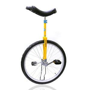 一輪車 中学生から大人向き 競技用 24インチ スポーツ 安心 安全 ユニサイクル 全国すべて送料無料 誕生日 おすすめ プレゼント 完全オリジナル 日本で組立 スポーク 軽量 イエロー