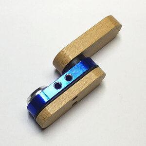 【折りたたみ式ウッドパイプ】モンキー 初期型のレプリカ パイプ 収納時4.6cm
