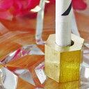 【瞬間火消し】タバコ消し SMOKECUT スモーキングカット 真鍮 六角形 BR6