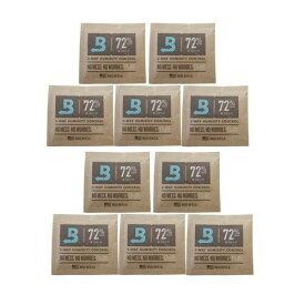 【boveda humidipak 72%】10個セット ボベダ 手巻きタバコ 煙草の湿度調整剤 ヒュミディパック ミニ 72% 保湿 1個単位 ヒュミドール 加湿器 JTI 日本たばこアイメックス